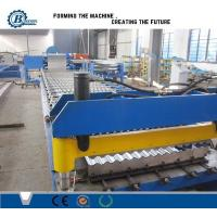 Wholesale Metal Corrugated Sheet Cladding Roof Panel Roll Forming Machine With Hydrayulic System from china suppliers