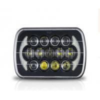 Wholesale Jeep Wrangler Car Light Bar 85w Cree 7 Inch Black Projector LED Headlights With DRL from china suppliers