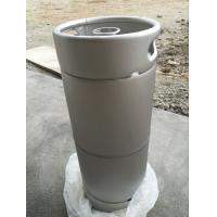 Wholesale 20L US barrel shape stainless steel beer keg silver stackable from china suppliers