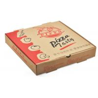 Wholesale Corrugated Cardboard Packaging Take Out Pizza Boxes Individual Pantone Color from china suppliers