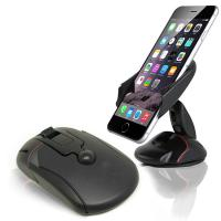 Wholesale Black Car Windshield Mouse Suction Mount Cell Phone Stand Holder Bracket For Mobile Phone from china suppliers