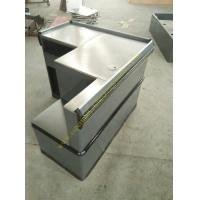 Wholesale Grey Mini Express Checkout Counter With Add On Counter For Convenient Store from china suppliers