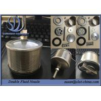 Wholesale Wedge Wire Screen Filter Element Double Fluid Nozzle 316L , Length 130mm from china suppliers