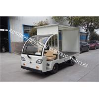 Wholesale Flexible Braking Electric Platform Truck , DC Electric Motor Electric Utility Truck from china suppliers