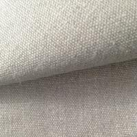 Quality Natural Color Hemp Canvas Fabric 370GSM Healthy Cloth for Garment Baby Diapers for sale