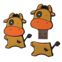 Wholesale promotional gift cartoon sillicon USB flash memory  1GB 2GB 4GB 8GB 16GB 32GB    from china suppliers