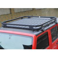 Wholesale Aluminium Alloy Auto Roof Racks Luggage Carrier for 2007-2017 Jeep Wrangler JK from china suppliers