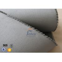 Wholesale Grey 1500gsm 1.5mm Silicone Coated Fiberglass Fabric For Welding Blanket from china suppliers