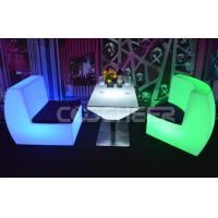 Wholesale Color Changing Portable Led Plastic Furniture Led Coffee Table from china suppliers