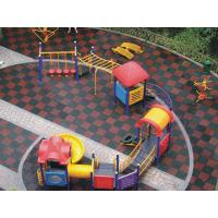 Quality Rubber Mat/Rubber tile/playground tile/various designs Safety Floor for sale