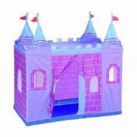 Wholesale Castle Play Tents, Easy Access to Clean or Pack-up the Play Tent, Available in Various Colors from china suppliers