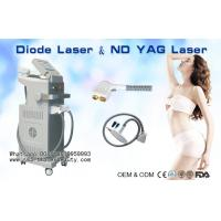 Wholesale 808nm Diode Laser Hair Removal Machine / 1064nm ND YAG Laser Tattoo Removal from china suppliers