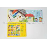 Quality Intellectual Baby Sound Book , Play A Sound Book with Funny Nursery Rhyme for sale