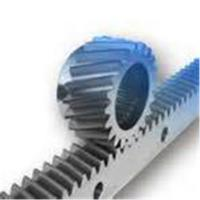 Wholesale Industrial Transmission Parts Steel Spur Gear Helical Rack Long Straight Bar from china suppliers