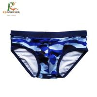 Wholesale custom logo swimming trunks pants quick dry swim brief men from china suppliers