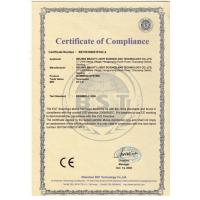 BEIJING BEAUTY LIGHT SCIENCE AND TECHNOLOGY Co., LTD Certifications