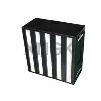 Wholesale Cleanroom V Bank 24x24x12 hepa filter from china suppliers