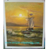 Wholesale oil painting, oil painting reproduction, Seascape oil painting from china suppliers