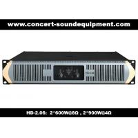 Wholesale 8Ω Stereo Output 2 X 600W Analog Audio Amplifier For Living Event / Concert from china suppliers