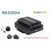 Wholesale 3G 4G WIFI GPS 4ch Hard Disk Car Dvr Analog HD 720P Car Black Box Mobile DVR from china suppliers