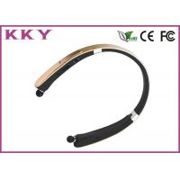 Wholesale 20Hz - 20KHz CSR8635 Chipset Retractable Bluetooth Headset Built In Microphone from china suppliers