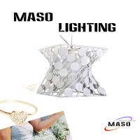 Wholesale MASO Square Spot Metal Pendant Lamp for indoor Lighting dinning room MS-I6019 from china suppliers