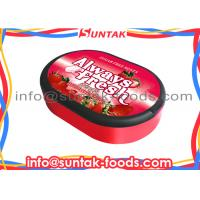Wholesale Sugar Free Sour Strawberry Hard Candy Custom Flavor , Zero Calorie Candy from china suppliers