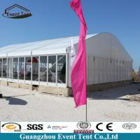 Wholesale Transparent Branded Classical Theatre Large Outdoor Tent Curved Arch Tent 10*30m from china suppliers