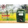Buy cheap Graden Ultrasonic Solar Animal Repeller ASF-006 Dog Cat Deer Repeller by Ultrasonic Signal and Flashing Frighten Animal from wholesalers