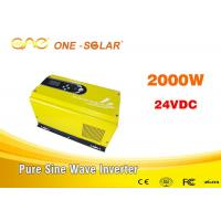 Wholesale Pure Sine Wave Invertor Single Phase 2 Kw Solar Inverter For Drinking Fountains from china suppliers