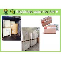 Wholesale High Bulk Large Cardboard Sheets , Compressed Paper Board For Making Hangbag from china suppliers