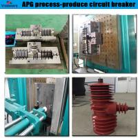China low price apg process injection moulding machine for primary bushing for sale