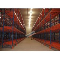 Wholesale Supply Chain Push Back Pallet Racking Steel Storage Shelving 2 Uprights Frame from china suppliers