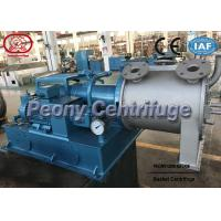 Wholesale Control PLC Small Two Stage Pusher Type Centrifuge For Copper Sulphate Dewatering from china suppliers