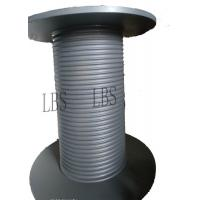 Carbon Steel Gray Color Lebus Grooved Drum And Sleeves For Hoisting / Crane