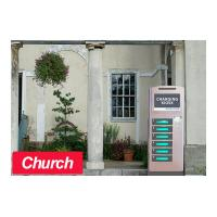 Wholesale Church Kiosk Free Cell Phone Charging Kiosk 6 Electronic Lockers from china suppliers
