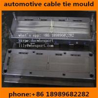 Wholesale plastic injection mold for nylon automotive auto car zip cable ties from china suppliers