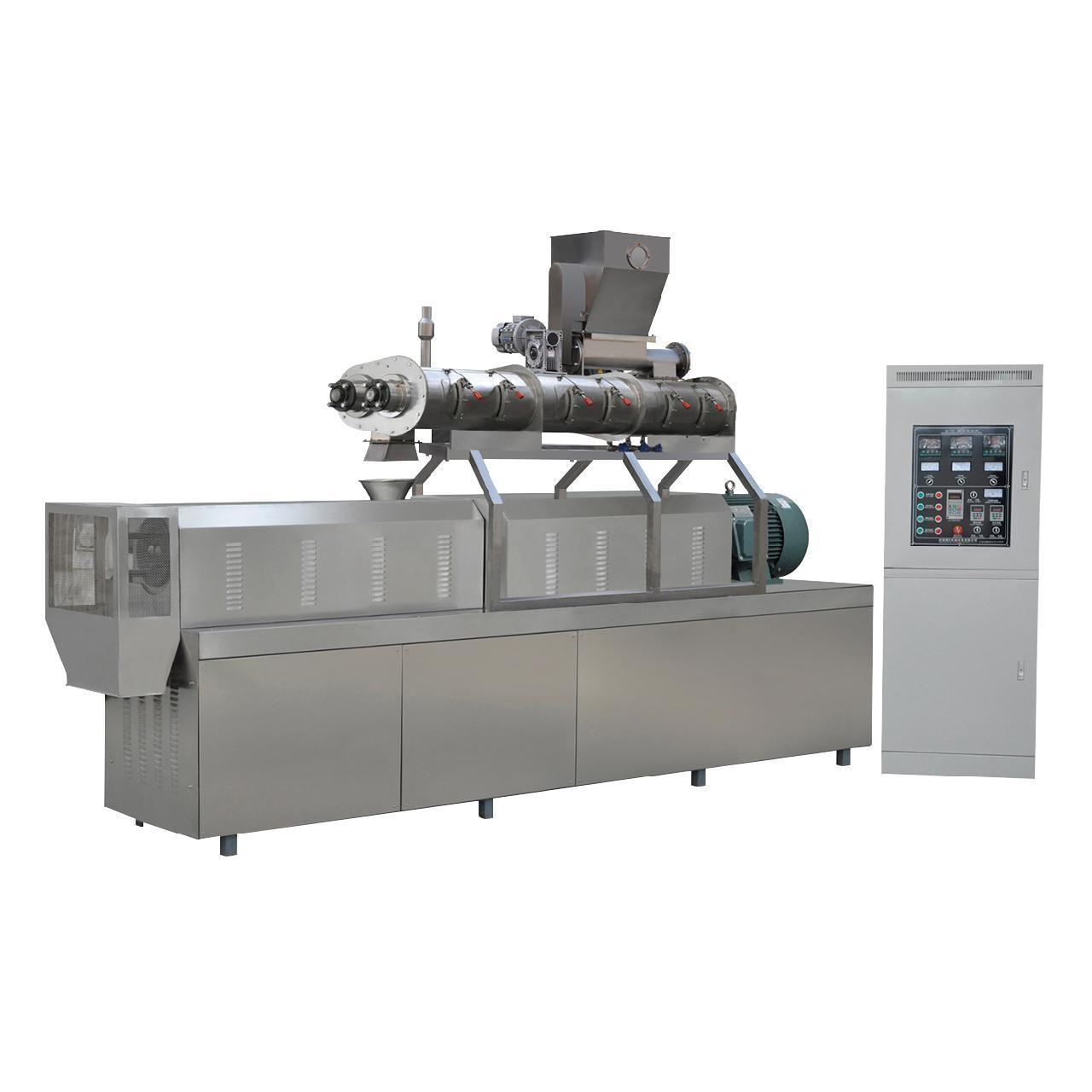 Wholesale 900kg/h twin screw extruder South Korea fish feed pellet machine price from china suppliers