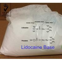 Wholesale Local anesthetics APIs Lidocaine Base CAS 137-58-6 Pharmaceutical Raw Material Steroid Hormones from china suppliers