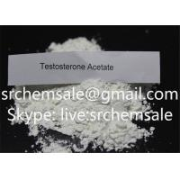 Wholesale Testosterone Acetate Muscle Building Steroids Powder Testosterone Acetate 99.9% Purity from china suppliers