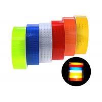 Warning Caution High Intensity Reflective Tape For Traffic Safety 50mm X 10m