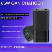 Wholesale Fast Charging PD3.0 65W Gallium Nitride Charger For Laptop from china suppliers
