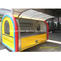 Wholesale 2m Wide Stainless Steel Food Cart Hot Dog Vending Carts Hand Push Kiosk from china suppliers