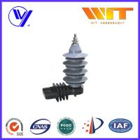 Wholesale 15KV Distribution Power Networks Metal Oxide Surge Arrester Gapless with Kema Tested from china suppliers
