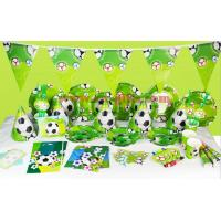 Wholesale 2017 Kids Boys Birthday Party Decoration carton Set Football Theme Party Supplies Baby Birthday Party celebration from china suppliers
