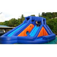 Wholesale Double Lane Commercial Inflatable Slides Waterproof Water Bounce Slide from china suppliers