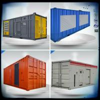 Wholesale Containerized VMAN generator sets, 600- 830 Kw diesel generator with container from china suppliers