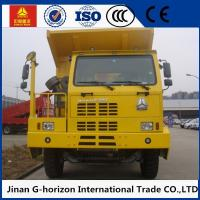 Wholesale High Strength Skeleton Cab ZZ5707S3840AJ Mining Tipper Dump Truck White Yellow Red from china suppliers