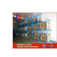 Wholesale 4 Wheel Assembled Corrosion Protection Warehouse Stacking Systems ISO / TUV from china suppliers