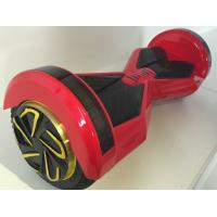 "Quality Red 2 Wheel Self Balancing Electric Vehicle , 8"" Two Wheeler Scooter With LED Lights for sale"